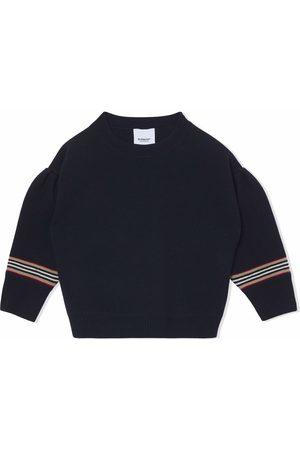 Burberry Icon stripe detail jumper