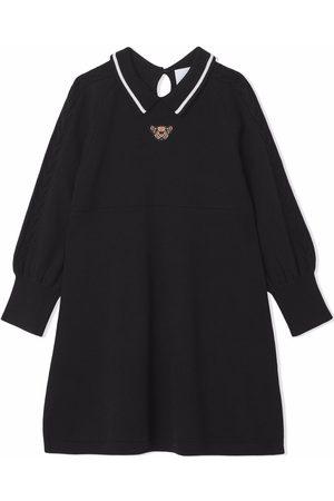 Burberry Thomas Bear wool dress