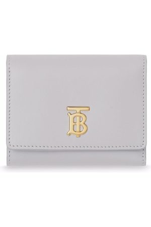 Burberry Women Wallets - Small monogram-motif wallet - Grey