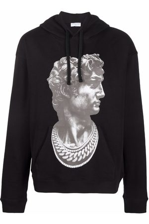 Ih Nom Uh Nit Statue-print hoodie