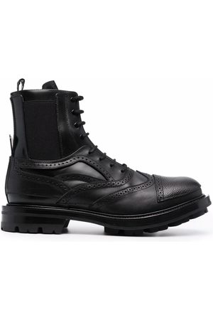 Alexander McQueen Men Ankle Boots - Lace-up ankle boots