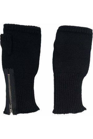 Yohji Yamamoto Zipped fingerless gloves