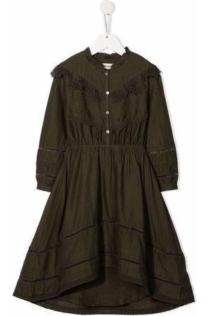 Zadig & Voltaire Kids Lace-trimmed cotton dress