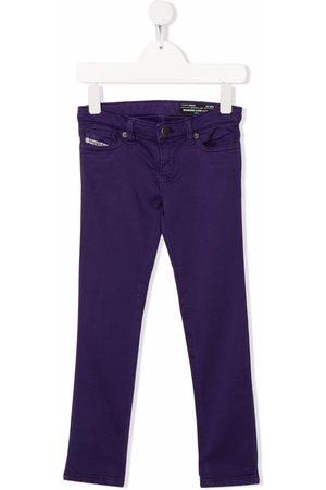 Diesel Kids Boys Skinny - Mid-rise skinny jeans