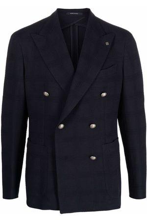 Tagliatore Check print blazer