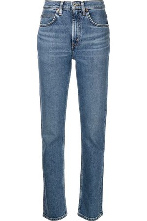 RE/DONE Comfort high-rise slim-fit jeans