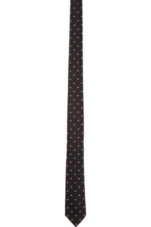 Paul Smith Black Fluorescent Spot Tie