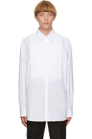 Valentino White Poplin Cinch Shirt