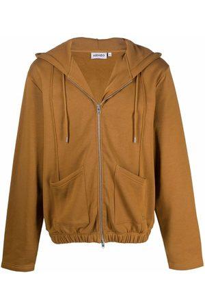 Kenzo Zip-up drawstring hoodie