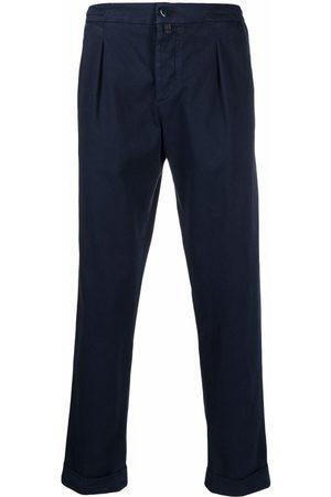 Kiton Mid-rise chino trousers