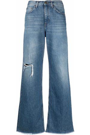 Haikure High-waisted wide-leg jeans