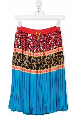 The Marc Jacobs TEEN multi-pattern pleated mini skirt
