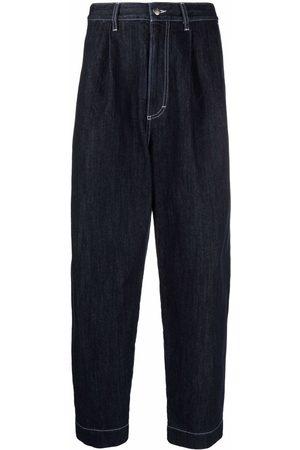 SOCIÉTÉ ANONYME Men Straight - Contrast-stitch straight-leg denim jeans