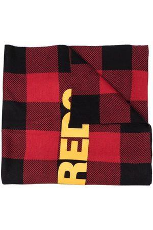 Dsquared2 Kids Check-print logo-motif scarf
