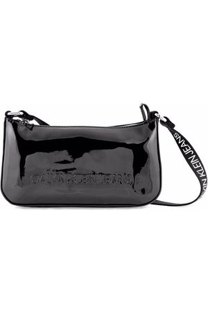 Calvin Klein Kids Girls Bags - Embossed-logo shoulder bag