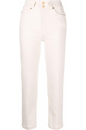 Love Moschino Skinny cropped trousers - Neutrals