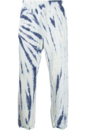 Les Tien Tie-dye print track pants - Multicolour