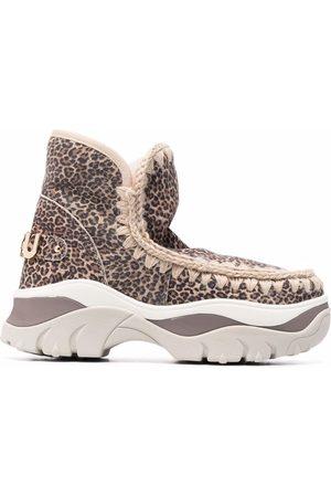 Mou Chunky eskimo sneaker boots