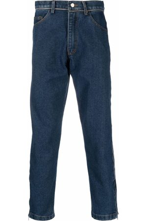 Youths In Balaclava Mid-rise straight-leg jeans