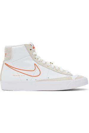 Nike White Blazer Mid '77 SE Sneakers