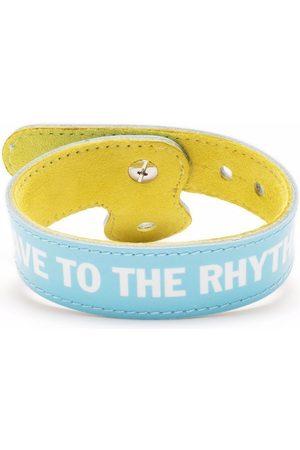 Honey Fucking Dijon Save To The Rhythm slogan bracelet
