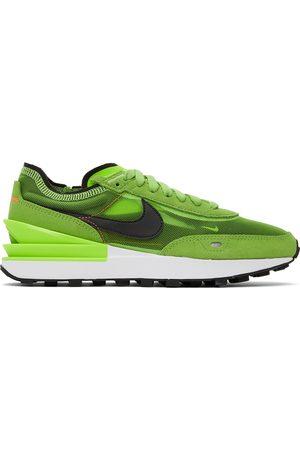Nike Men Sneakers - Green Waffle One Sneakers