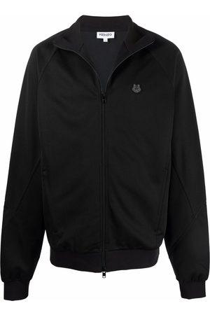 Kenzo Men Bomber Jackets - Tiger Head-patch bomber jacket