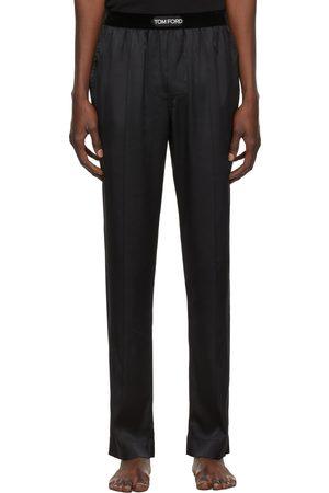Tom Ford Men Pajamas - Black Silk Pyjamas