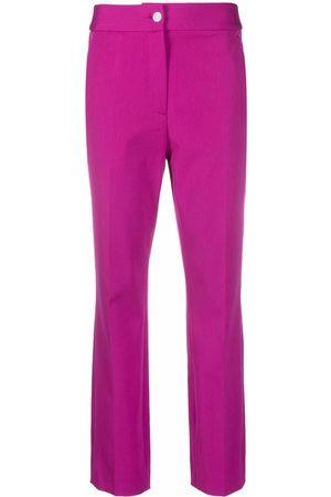 Roberto Cavalli Women Stretch Pants - Stretch-design cropped trousers