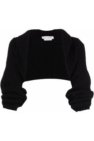 Alexander McQueen Knitted bolero jacket