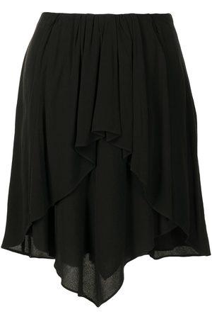 IRO Calvin draped asymmetric skirt