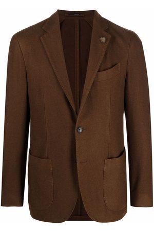 LARDINI Single-breasted tailored blazer