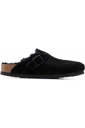 Birkenstock Women Mules - Suede slip-on clog mules