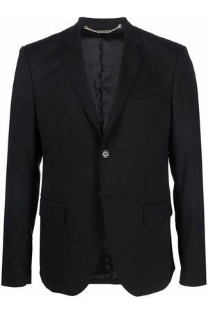 John Richmond Single-breasted stud-embellished blazer