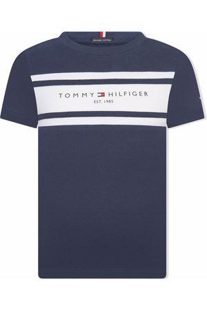 Tommy Hilfiger Junior TEEN logo-print short-sleeved T-shirt