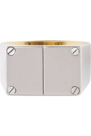 Burberry Double plaque signet ring