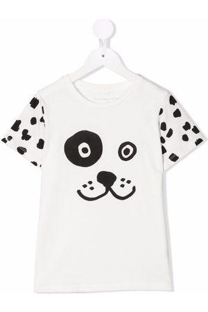Stella McCartney Kids Animal print short-sleeve T-shirt