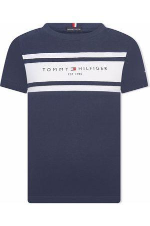 Tommy Hilfiger Junior Logo-print short-sleeved T-shirt