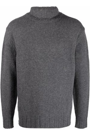 Closed Roll neck jumper - Grey
