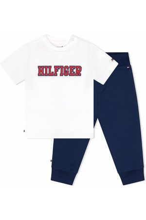 Tommy Hilfiger Junior Logo-print tracksuit set