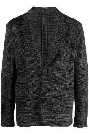 Emporio Armani Houndstooth blazer jacket