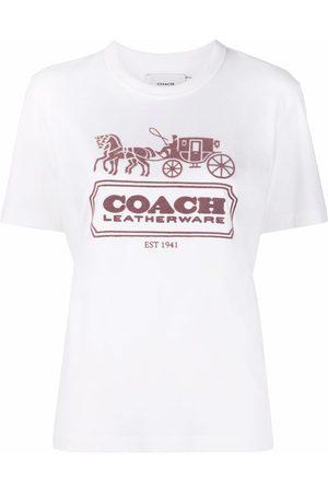 Coach Logo-print cotton T-shirt