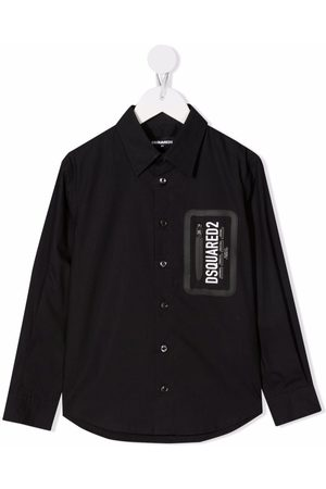 Dsquared2 Logo button shirt