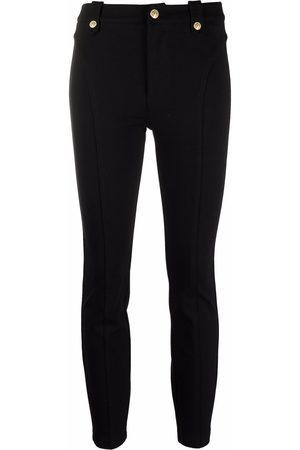Versace Jeans Couture Women Leggings - Mid-rise panelled leggings