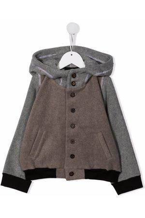 INFANTIUM VICTORIA Girls Bomber Jackets - Hooded bomber jacket - Grey