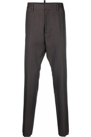 Dsquared2 Pinstripe tailored trousers - Grey