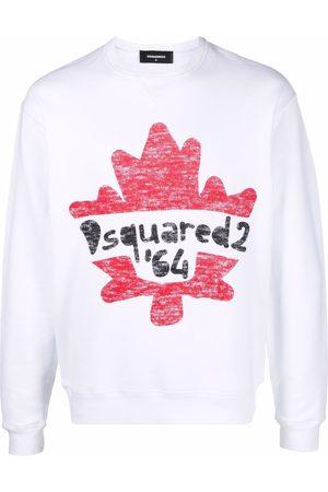 Dsquared2 Men Sweatshirts - Leaf logo sweatshirt