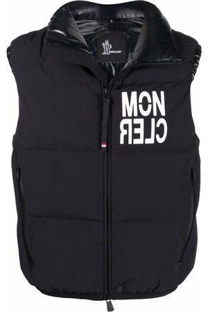 Moncler Grenoble Logo-print down-padded gilet