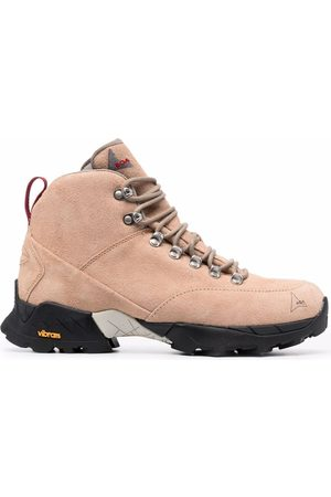 ROA Andreas suede hiking boots - Neutrals