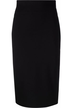 Dolce & Gabbana High-waisted fitted midi skirt